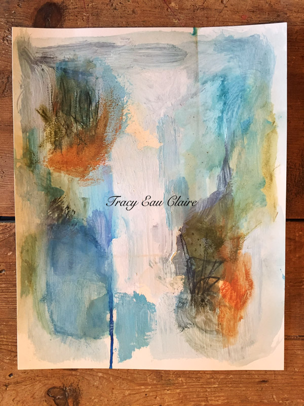 abstract, earth tones, art on paper, watercolor for sale