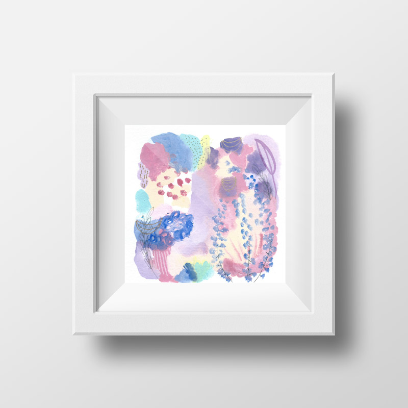 abstract art for sale, fantasyland, disney inspired, disneyworld