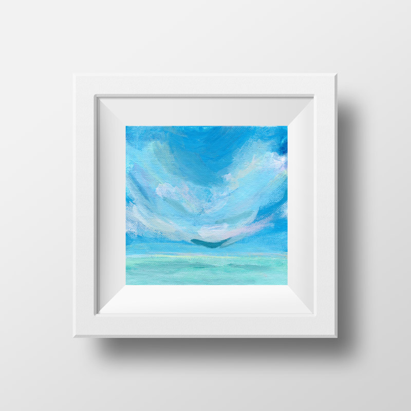 cloud scape art for sale